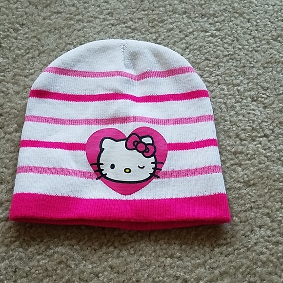 3712f6564 Sanrio Accessories | Nwot Kids Hello Kitty Winter Beanie | Poshmark